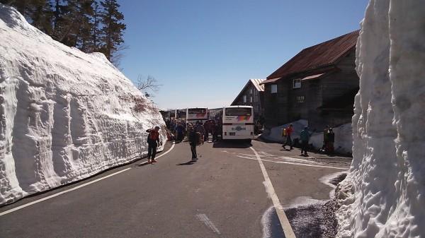 位ヶ原山荘 バス