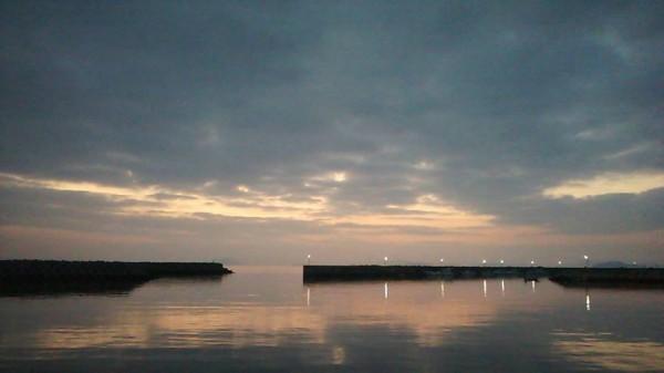 岩国 夜明け