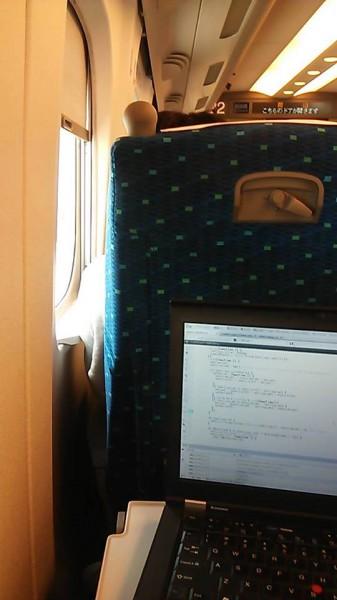 新幹線 仕事