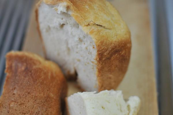 上州地粉と強力粉でパン