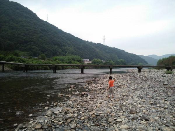 錦川 潜水橋 沈下橋