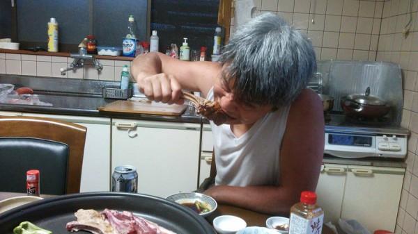 イノシシ肉 喰らう