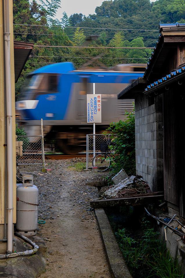 鉄道用地内に入らないで下さい