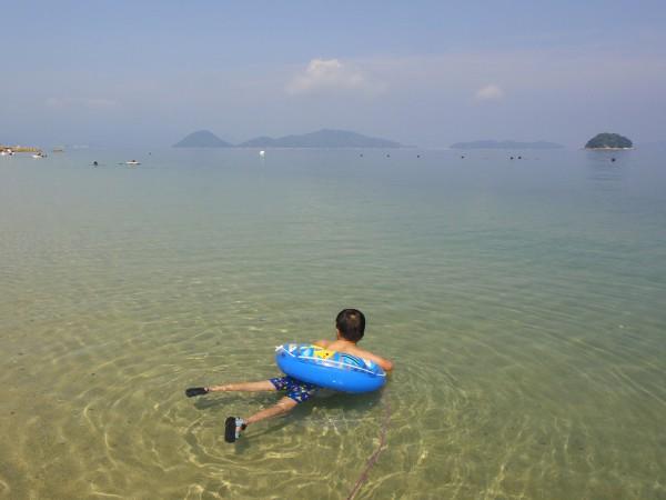 周防大島、逗子ヶ浜