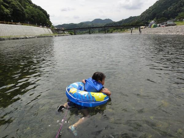 錦川 行波 川遊び