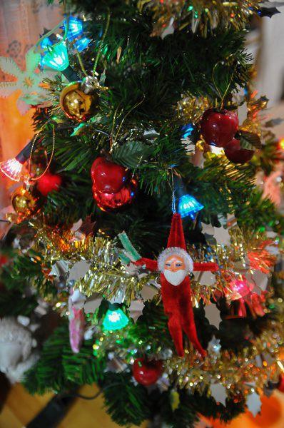 昭和レトロ クリスマスツリー