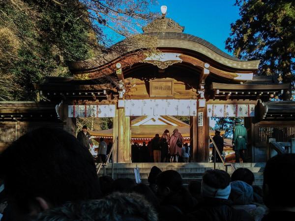 高麗神社 初詣 2016