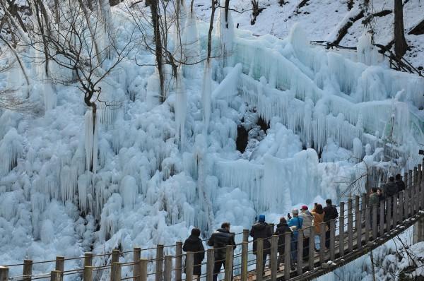 小鹿野 尾ノ内氷柱