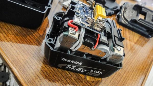 マキタ バッテリー 修理