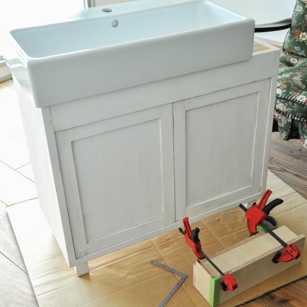 洗面台 シャビーシック IKEA