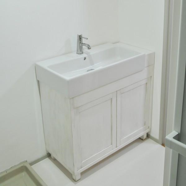 シャビーシック 洗面台 IKEA