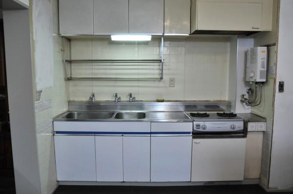 昭和なキッチン リフォーム