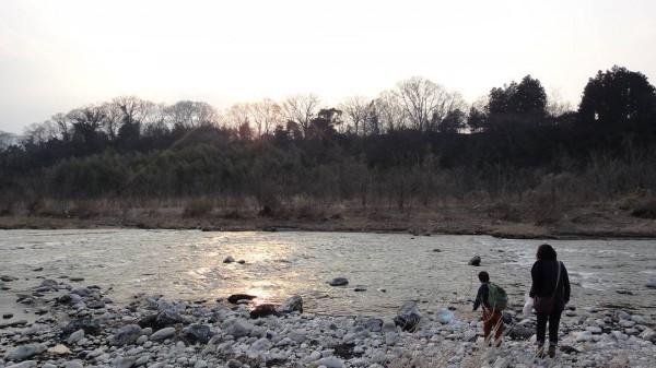 秩父 荒川 河原