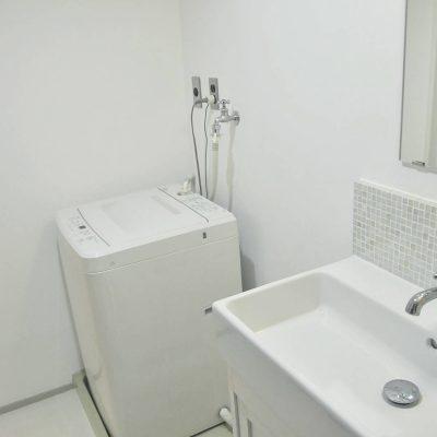 洗濯機置場 洗面所