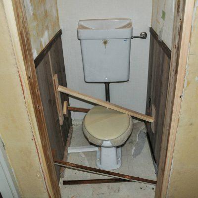 トイレ リフォーム シャビーシック