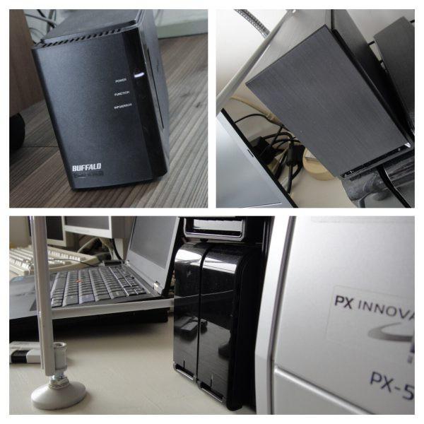 USB 外付け HDD NAS