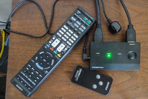 BSAK302 buffalo HDMIセレクター