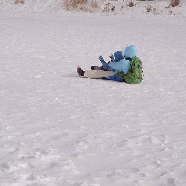 #赤城山 #そりすべり #そり遊び #雪遊び