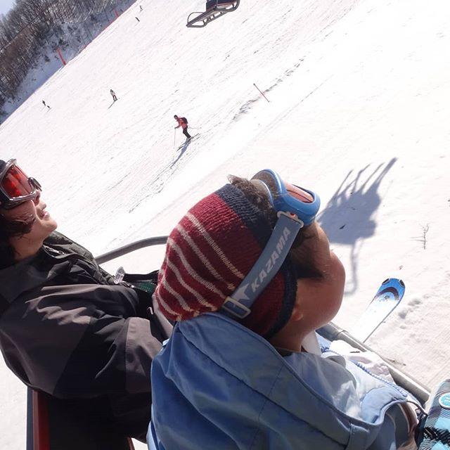 #息子、リフト初挑戦! #かたしな高原スキー場 #家族スキー #スキー #群馬スキー場 (Instagram)