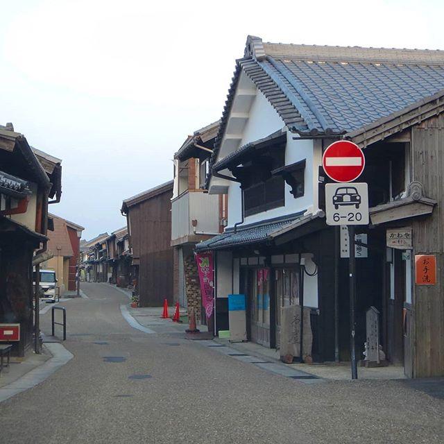 新名神の渋滞回避で迷い込んだ古い街並み#関宿 #東海道 #亀山 #新名神 #渋滞回避