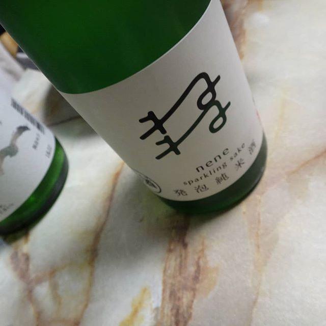 コレもいいです!#ねね #五橋 #発泡純米酒ねね #発泡純米酒 #岩国の酒 #山口の酒