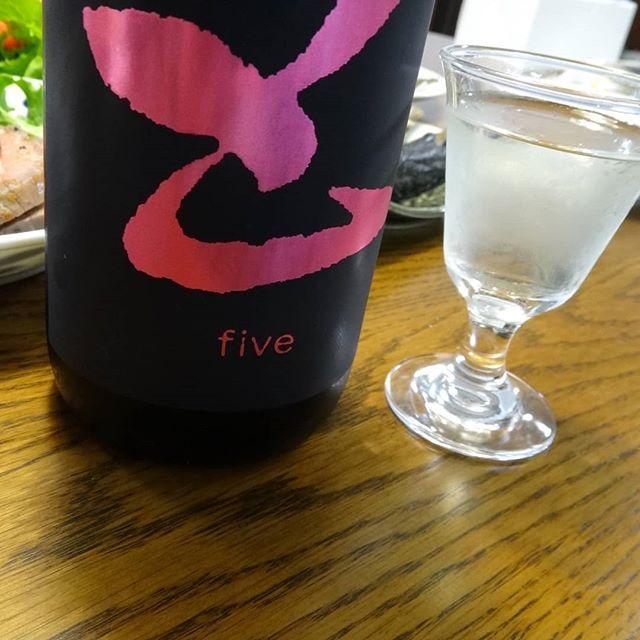 調子に乗って開けてしまいまいた__#fiveピンク #五橋fiveピンク #五 #z #五橋 #岩国の酒 #山口の酒