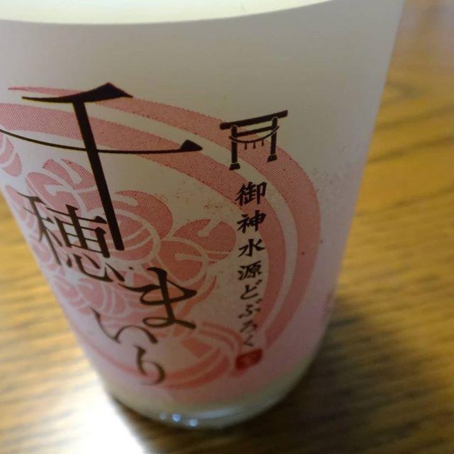 アルコール度数低めでスルスル入っちゃう♪#千穂まいり #どぶろく #宮崎の酒 #九州の日本酒