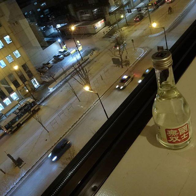 スーパーでお惣菜買ってホテルで部屋飲み。#国士無双 #ホテルで部屋飲み #旭川 #旭川出張