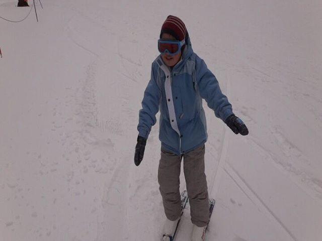 #初めて一人で滑った #息子とスキー #湯の丸スキー場 #スキー練習