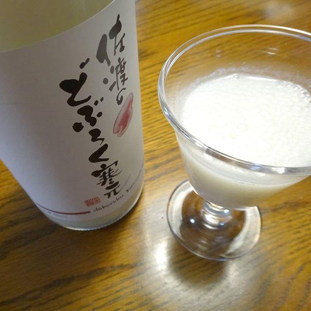 すっぱいよ♪#佐渡のどぶろく #佐渡発酵 #佐渡の酒 #日本酒 #どぶろく