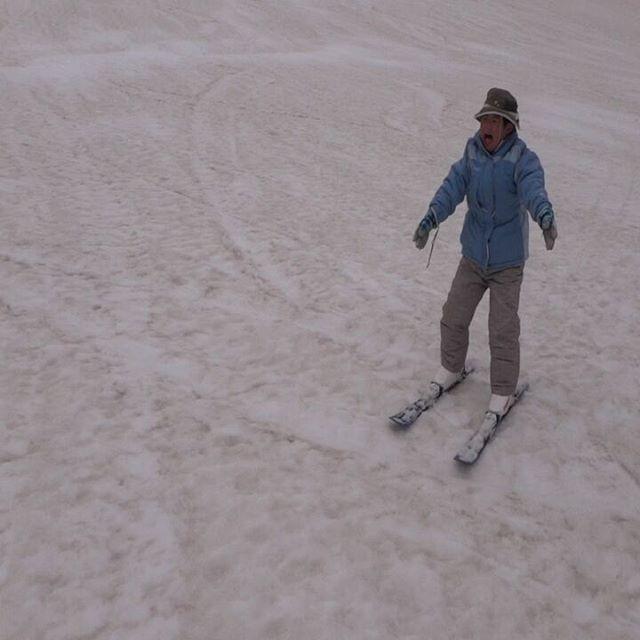 #スキー特訓 #春スキー #乗鞍高原 #三本滝 #息子とスキー #息子と二人旅 #雪遊び