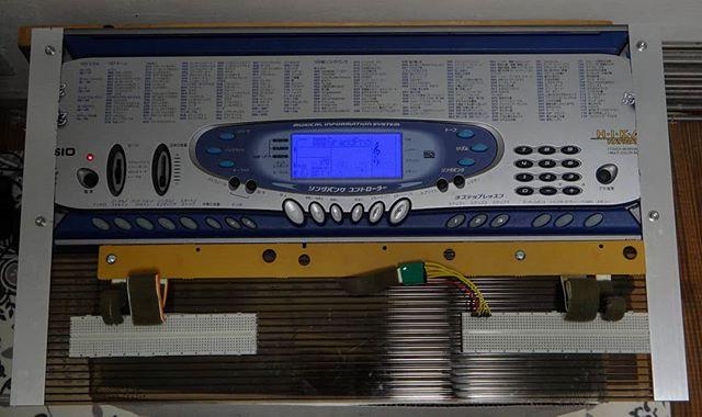 不要な部分を削ぎ落とし光ナビゲーションの信号を取り出しもう元の姿には戻れません__#ブレッドボード #作品制作中 #作品制作 #動く作品 #lk65 #光ナビゲーションキーボード #光ナビゲーション #casio #分解 #キーボード分解 #midikeyboard #midiキーボード #midiキーボード改造