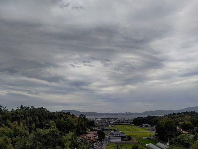 宍道湖は曇り#宍道湖 #宍道湖sa #山陰道