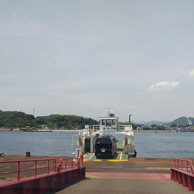 福山から因島への帰り道、しまなみ海道大渋滞で、裏道、抜け道、フェリーを駆使して無事帰還。__#歌フェリー #しまなみ海道渋滞 #向島 #戸崎 #フェリーの旅__