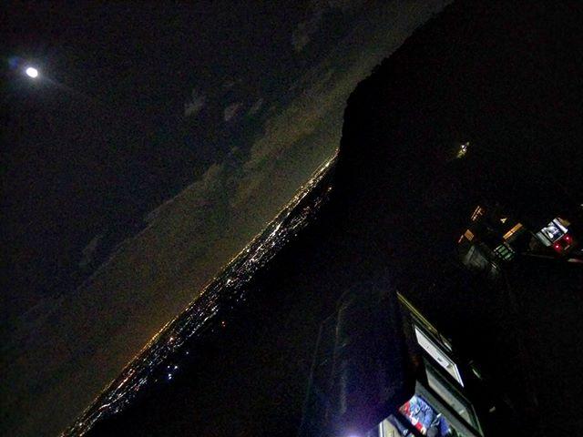 湯の山温泉からの夜景#湯の山温泉 #湯の山温泉希望荘 #希望荘 #夜景 #三重県 #出張中