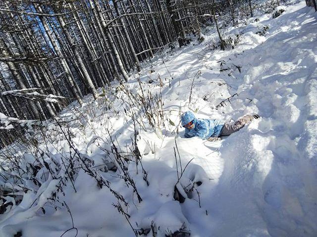 はしゃぎ過ぎて遭難寸前#湯の丸高原 #湯の丸スキー場 #雪遊び #雪合戦 #雪道運転 #雪道ドライブ