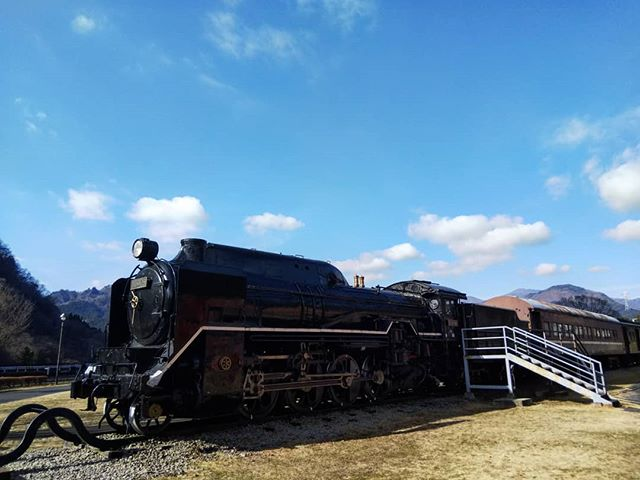 D51ナメクジと進駐軍専用客車#d51 #碓氷峠鉄道文化むら #横川 #群馬ドライブ #鉄道車両