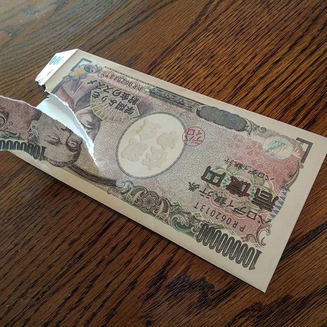 大惨事#壱億円 #お年玉袋
