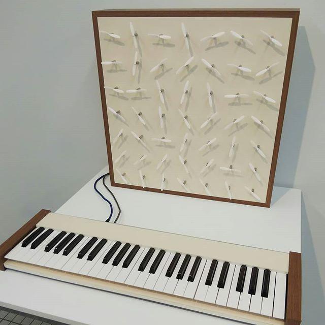 風を奏でる楽器明日よりムササビ2020始まります__#ムササビ2020 #展覧会 #風を奏でる #風を奏でる 楽器 #midi #midikeyboard #analogsynthesizer #analogsynth #山脇ギャラリー
