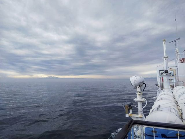 流氷ありません__#流氷観光砕氷船おーろら #おーろら #流氷無い #網走 #オホーツク海